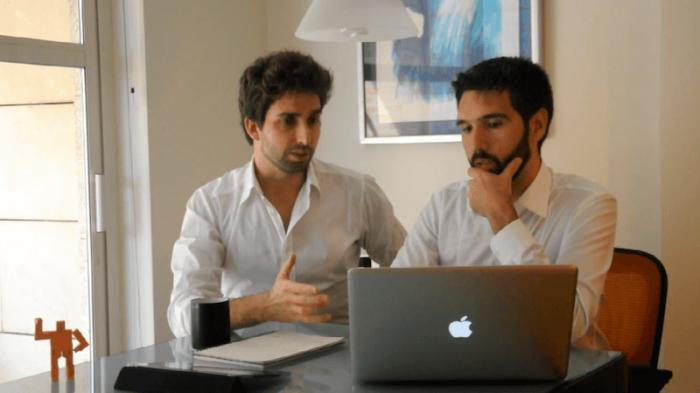 Bosco Soler y Jesús García en Artee