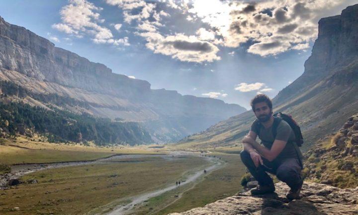 Desconectado de las redes sociales en una ruta por los Pirineos