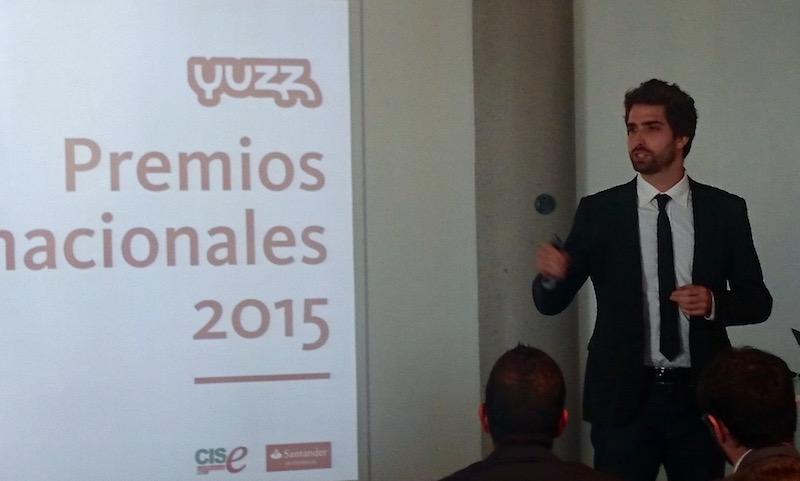 Bosco Soler en los Premios Nacionales Yuzz 2015