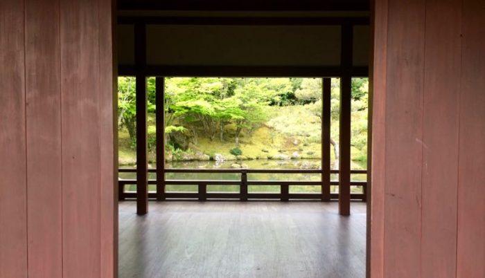 Un jardín y sala de té japoneses que vi, curiosamente, en Nueva Zelanda