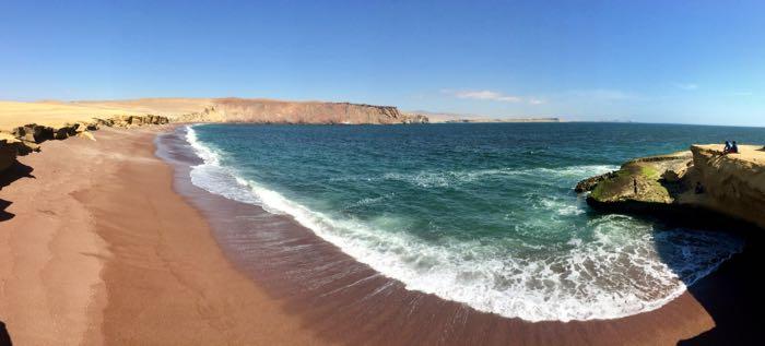 Reserva Nacional de Paracas en mi viaje a Perú