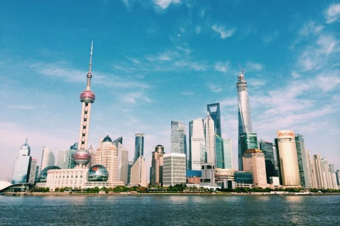 Skyline de Shanghai desde The Bund.