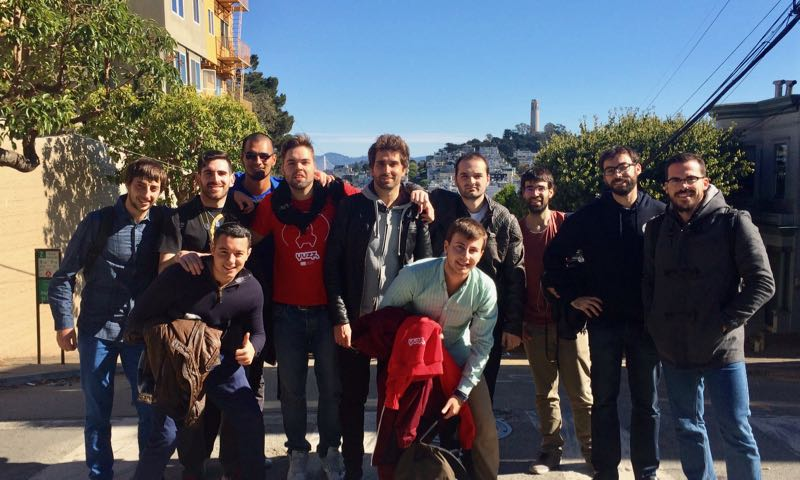Participantes de Yuzz 2015 en San Francisco en Silicon Valley